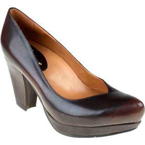 Earthies Tarnow Chestnut Brown Pumps Heels, 7B